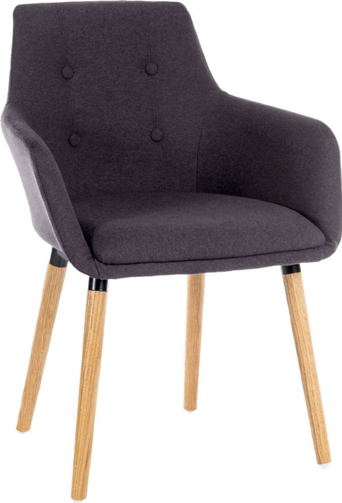 TEKNIK Stylish Four Legged Reception Chair (Sold in Packs of 2)